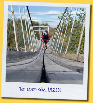 Torisenon silta, Enontekiö